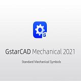 Standard Mechanical Symbols in GstarCAD Mechanical 2021