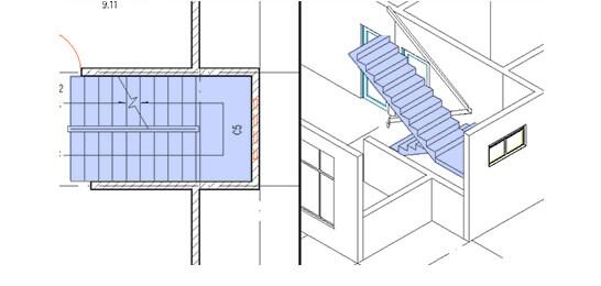 Create stairs